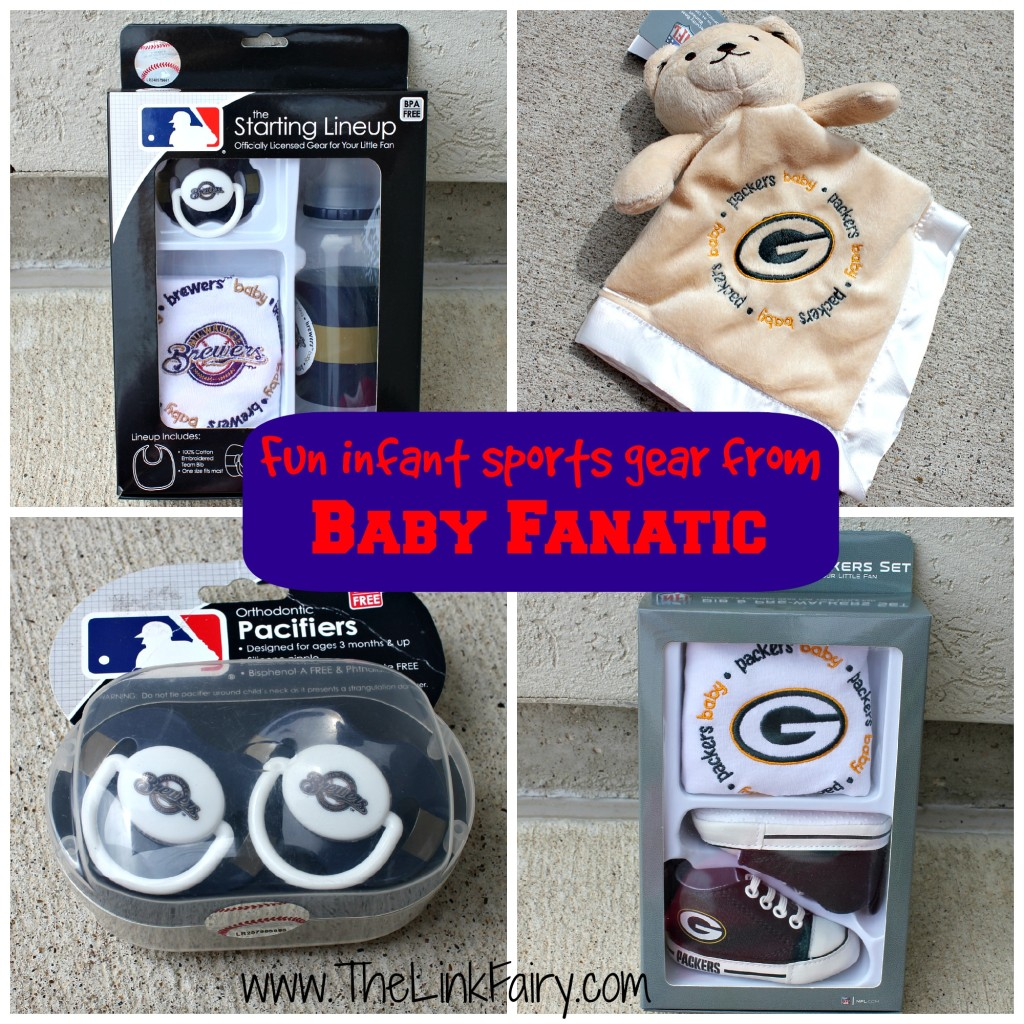 Infant sports gear from Baby Fanatic