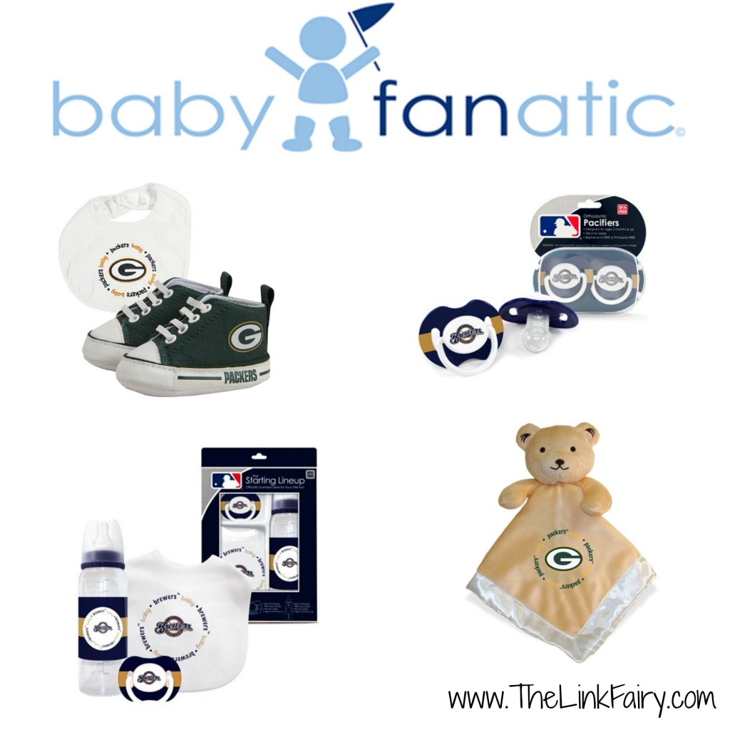 Infant sports gifts from Baby Fanatic