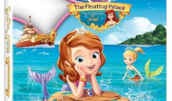 Be enchanted with the new Sofia The First: The Floating Palace on DVD!