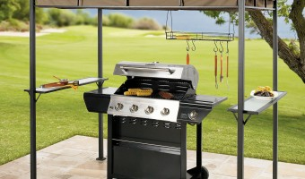 Get grilling for Mother's Day with Brylane Home's Grilling Gazebo #MothersDay