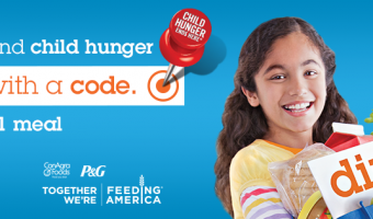 Help H-E-B & ConAgra Foods fight child hunger in the 2014 Child Hunger Ends Here program. #ChildHunger