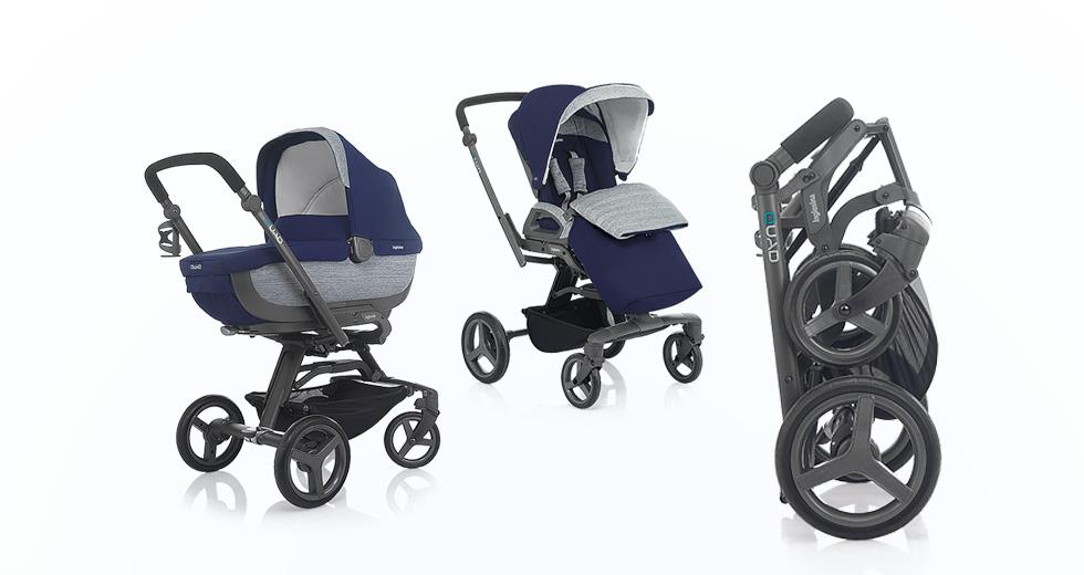 Meet the latest in premium strollers, the Inglesina Quad