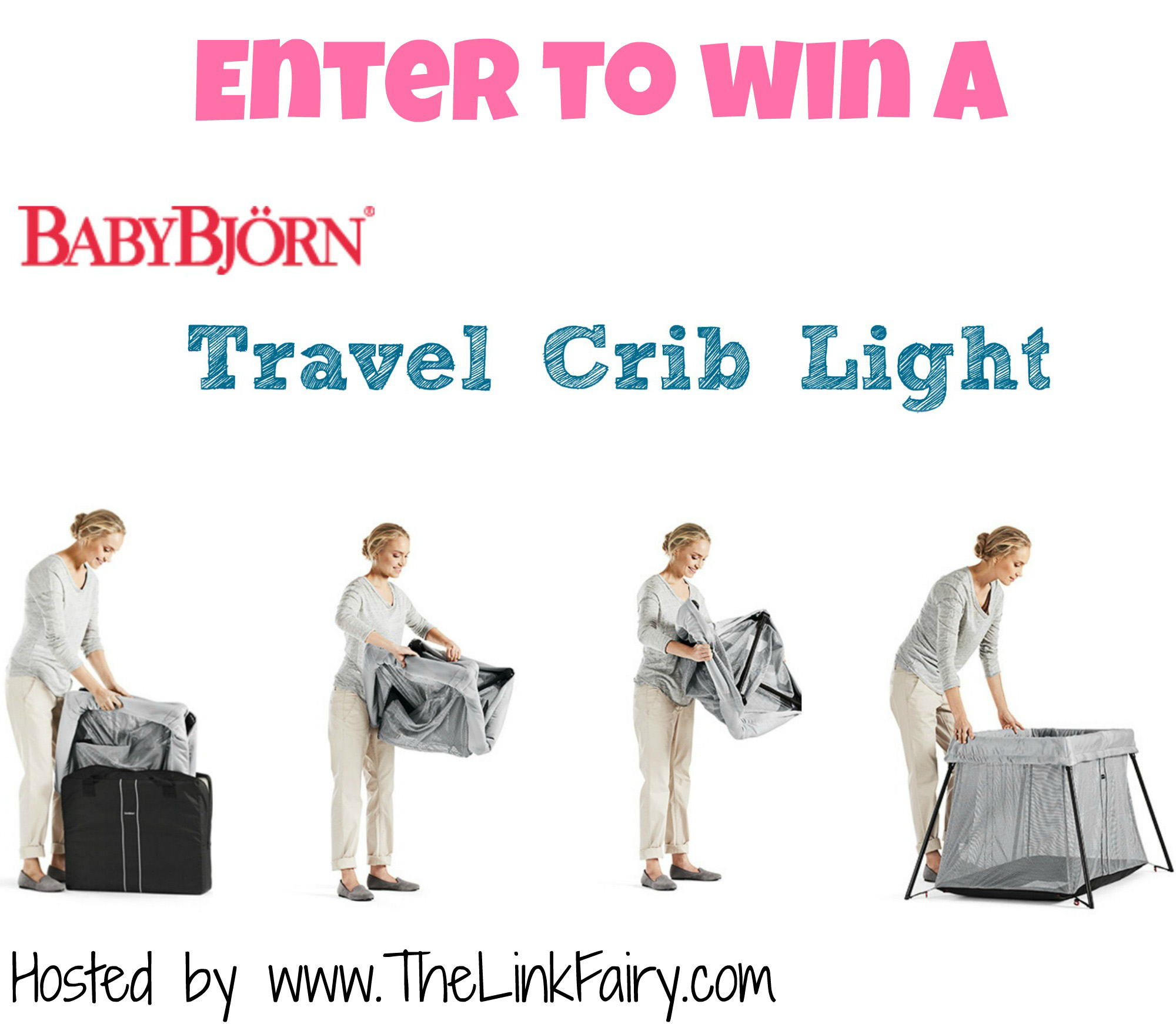 enter to win a babybjorn travel crib light. Black Bedroom Furniture Sets. Home Design Ideas