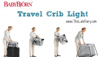 Say goodbye to travel crib melt downs with the BabyBjorn Travel Crib Light! #TravelCribLight