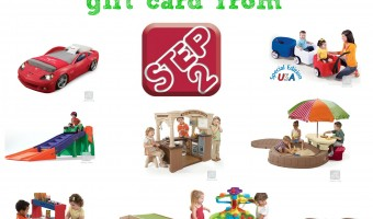 Ring in Summer with a $300 Step2 gift card giveaway!