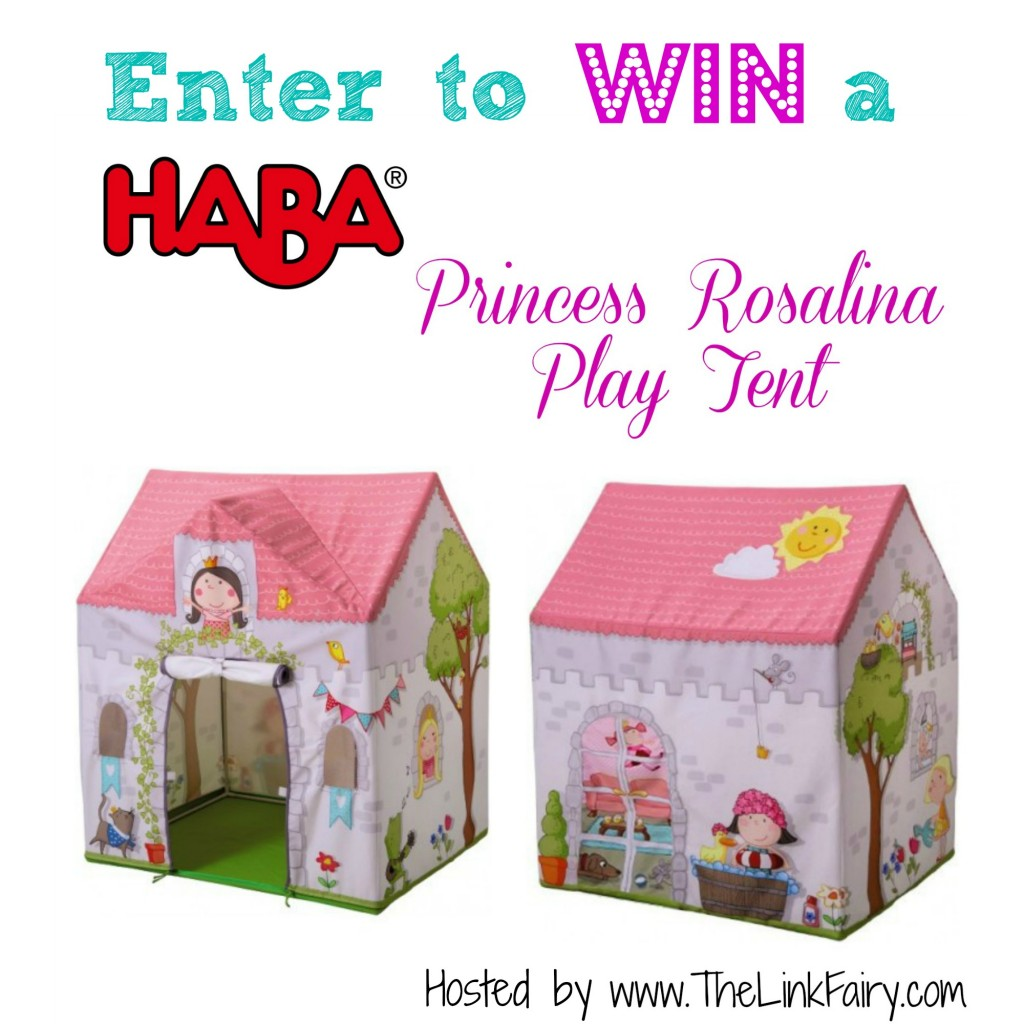 Enter to win a HABA Princess Rosalina Play Tent!