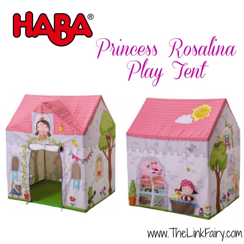 HABA Princess Rosalina Play Tent review