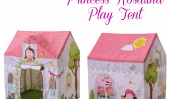 A play tent fit for royalty, the Princess Rosalina Play Tent from HABA!