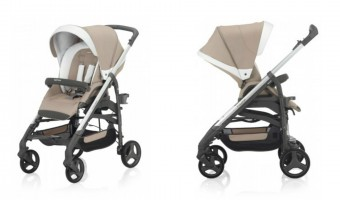 Style meets functionality in the Inglesina Trilogy stroller! #babyliciousshower