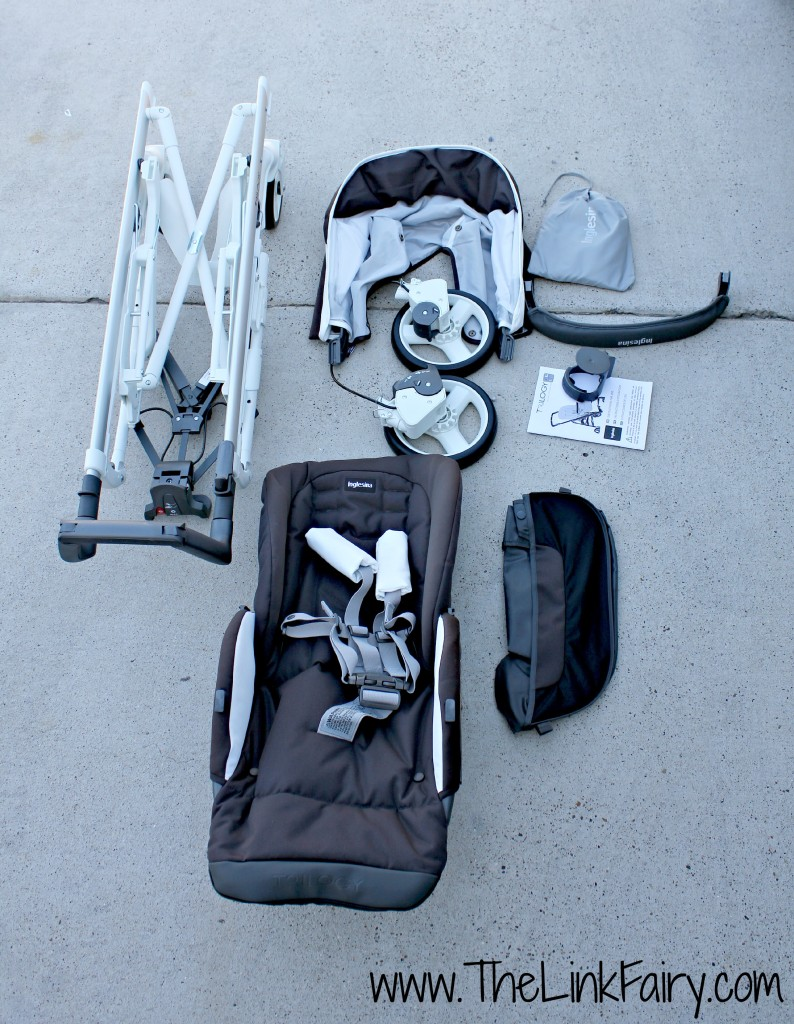 Inglesina Trilogy Stroller review - parts