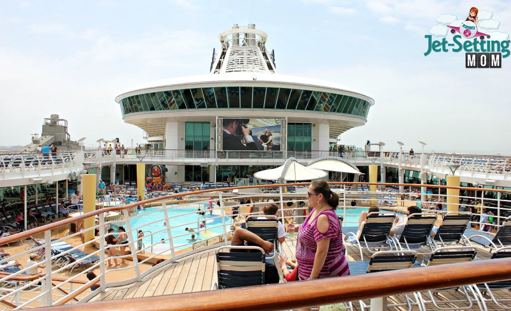 Lido Deck onboard Navigator Of The Seas