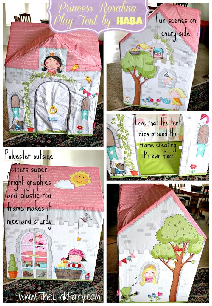 Princess Rosalina Play Tent by HABA review