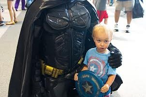 6 Tips for Taking Your Toddler To a Sci-Fi Convention! #ComicCon #SciFi