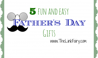 5 fun and easy gifts for Father's Day! #fathersday
