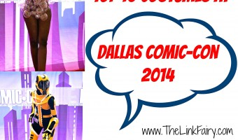 Top 10 costumes at Dallas Comic-Con 2014!