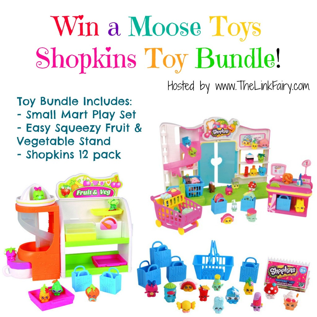 Moose Toys Shopkins Toy Bundle Giveaway