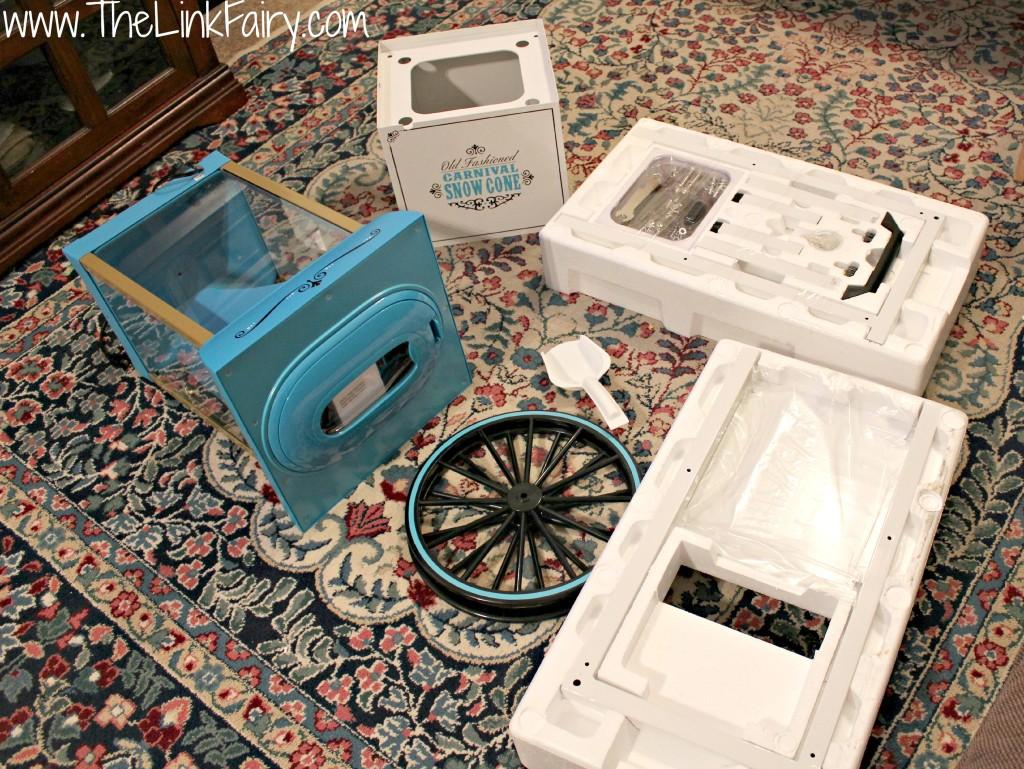 Nostalgia Electrics Snow Cone Cart