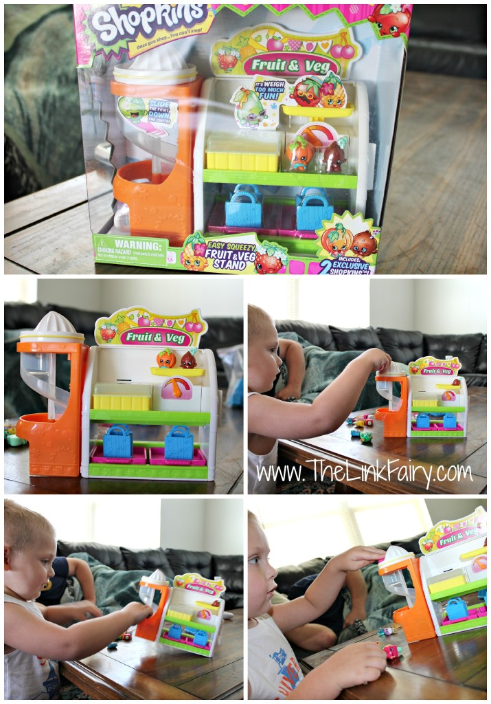 Shopkins Fruit & Veg Stand from Moose Toys