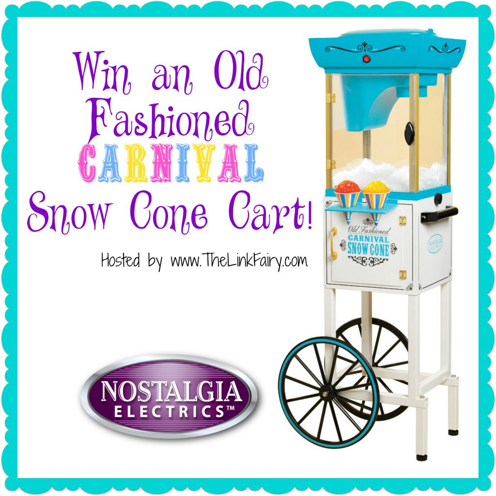 Win an Old Fashioned Carnival Snow Cone Cart!