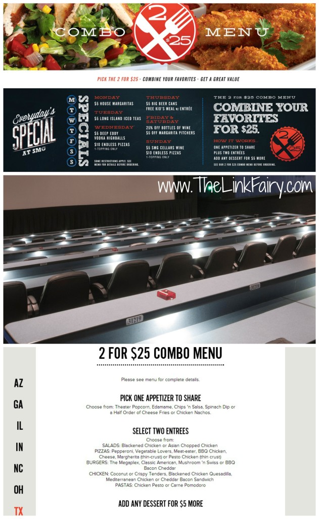 Great food and seating at Studio Movie Grill Houston