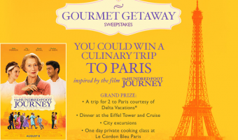 Discover great food & win big with The Hundred-Foot Journey + #SummerGetawaySweepstakes !