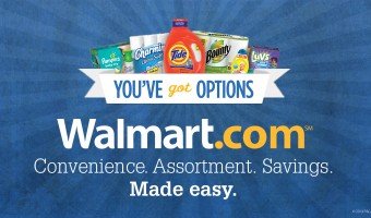 Finding my favorite P&G Products is easy at Walmart.com!