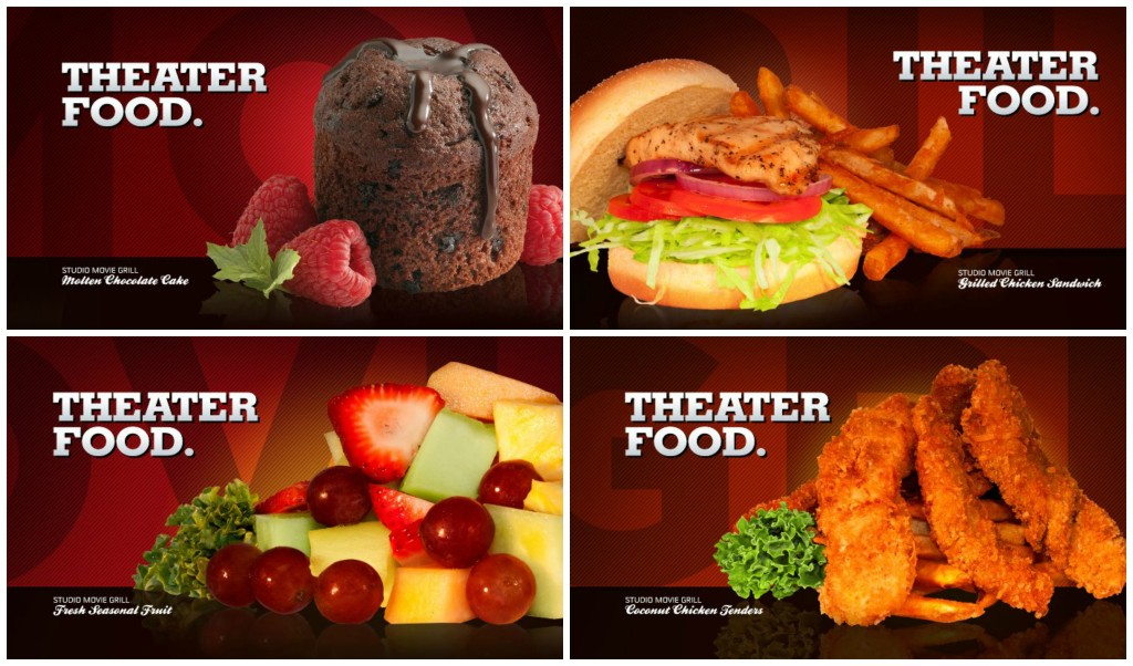 Yummy choices at Studio Movie Grill Houston City Centre