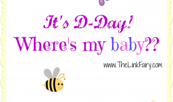 It's my baby's D-Day! Feel free to come on out any time now little one!