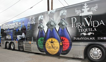 Pura Vida Tequila and Godsmack; the perfect cocktail! #puravidaparty #815tequilatime