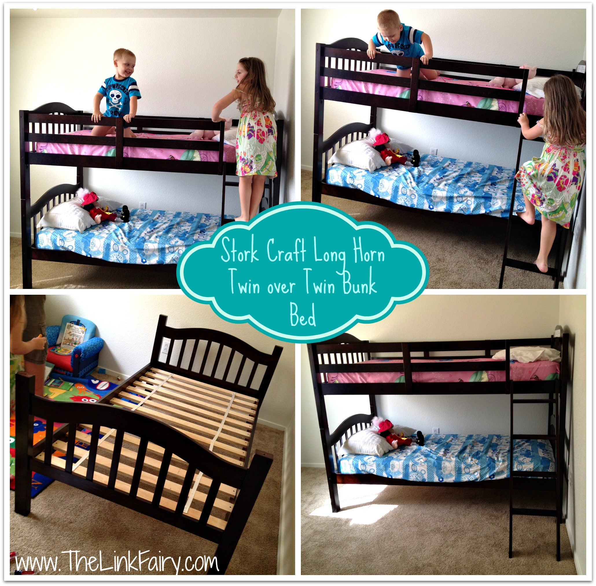 Stork Craft Long Horn Twin Over Twin Bunk Bed Review