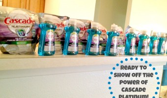 No rinse cycle needed! Cascade Platinum party and #giveaway ! #CascadeShiningReviews