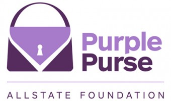 Stand tall against domestic violence with All State's #PurplePurse Program
