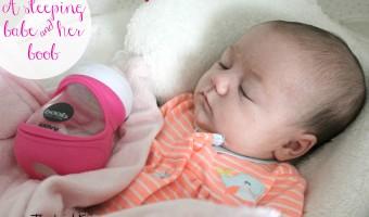 No more crying over spilt milk with the Joovy Boob Baby Bottle! #joovy #joovyboob