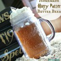 Homemade Harry Potter Butter Beer Recipe