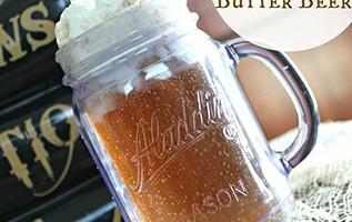 Homemade Harry Potter Butter Beer #recipe #harrypotter #butterbeer #halloween #fall