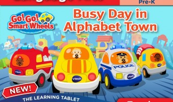 learn through play with Vtech Learning Cartridges for InnoTab Tablets