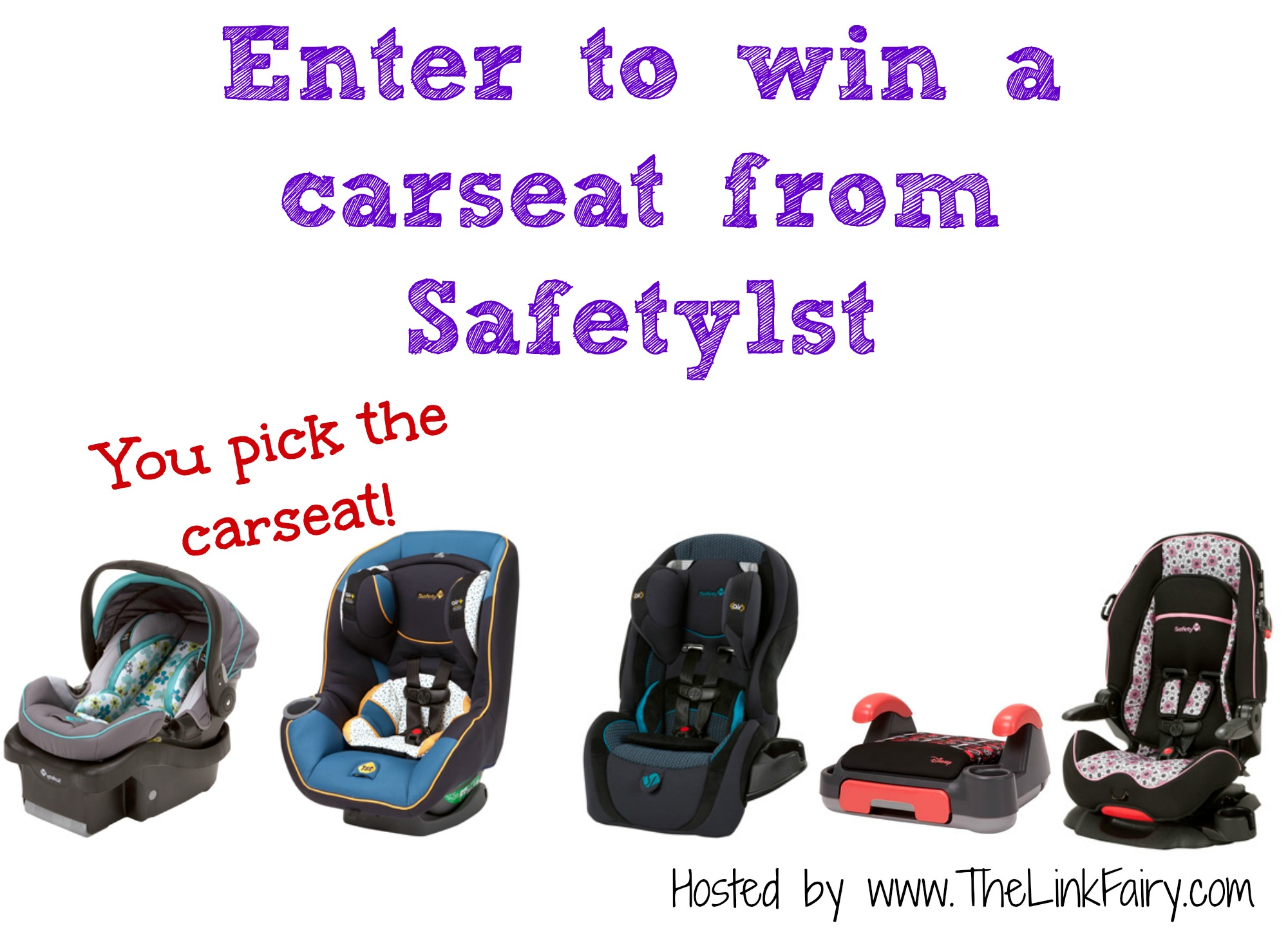 Car Seat Giveaway: Safety1st Pick A Car Seat Giveaway