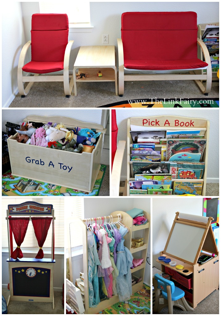 GuideCraft offers the wonderful play room furniture that's just the right size for little ones