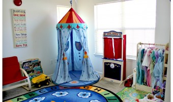 On a mission: Creating the perfect play room