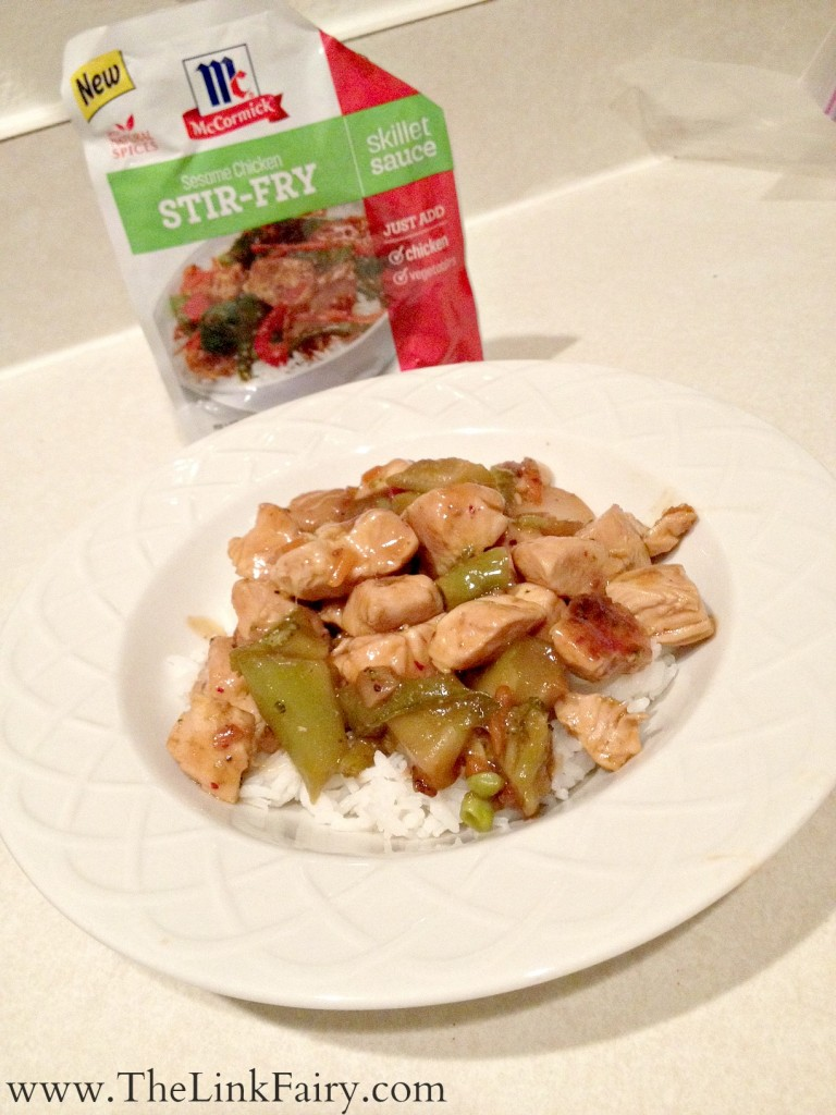 Yummy and easy meals with McCormick Skillet Sauces available at Walmart!