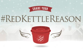 Spread holiday & new years cheer with The Salvation Army!  #RedKettleReason #sponsored #MC