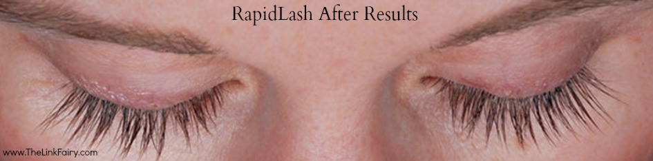 Increase your eyelashed and eyebrows with RapidLash!