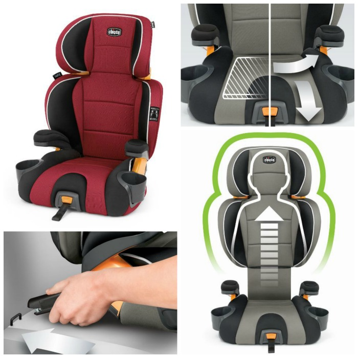 Chicco Kidfit Booster Seat Collage