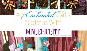 5 tips for hosting an enchanted girl's night in! #MovieLovers