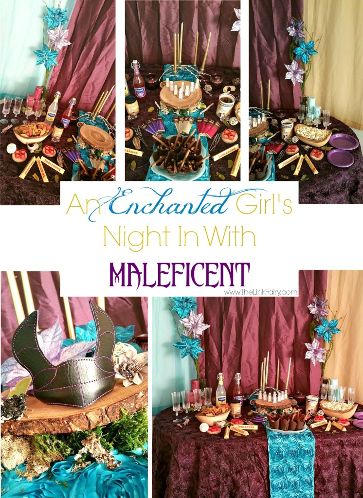 An Enchanted Girl's Night In With Maleficent