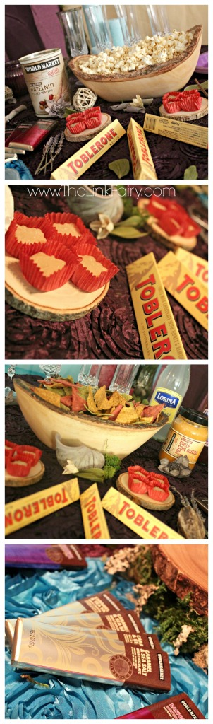 Enchanted Forest party foods