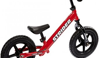 Jump start your child's bike riding with Strider Balance Bikes! #holidaygiftguide