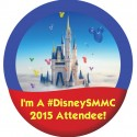 #DisneySMMC 2015 Attendee Button from TheLinkFairy.com