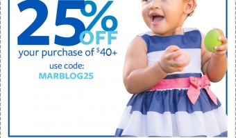 Get ready for Spring with Carters and 25% off ! #SpringIntoCarters #IC #ad #coupon