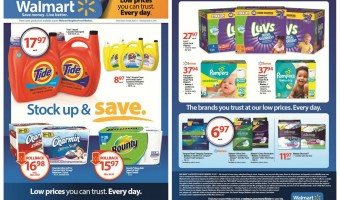 Stock Up and save with P&G at Walmart + Giveaway!